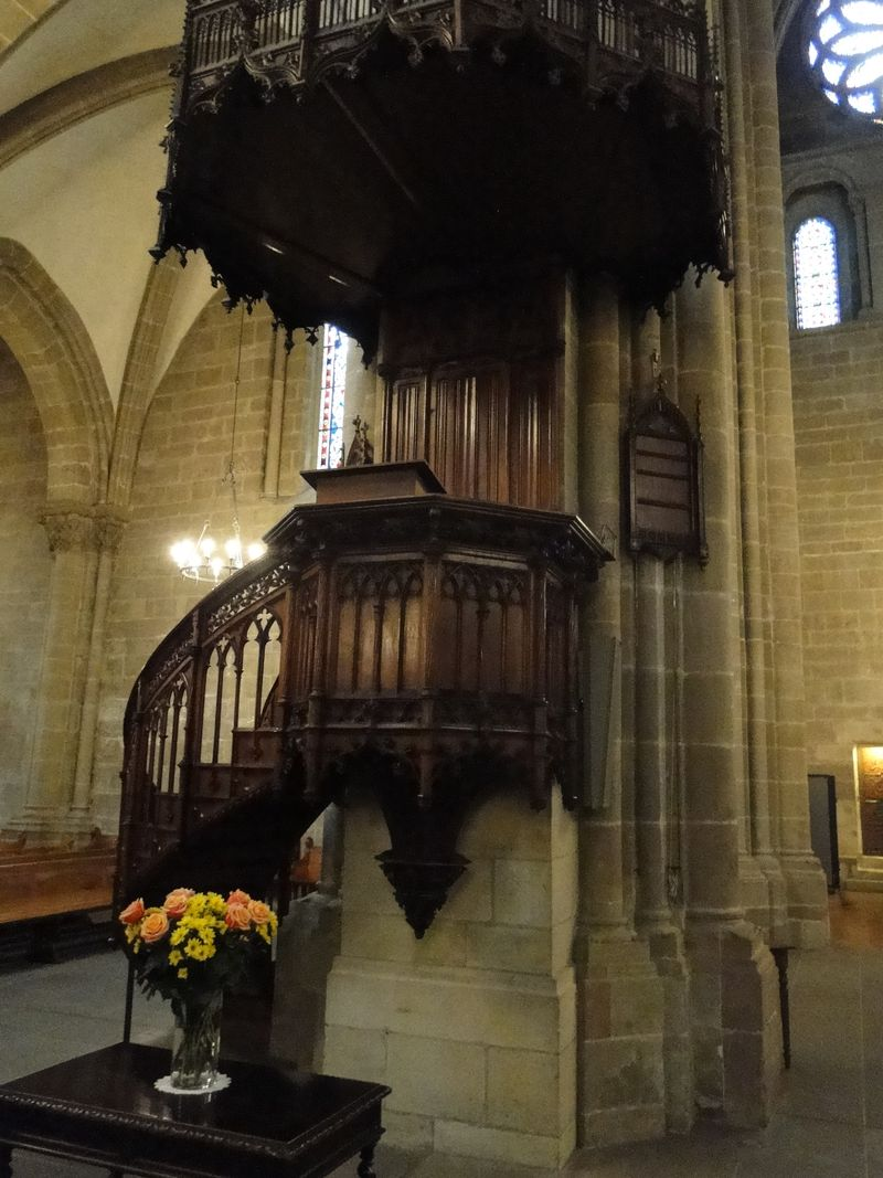 St. Pierre Pulpit