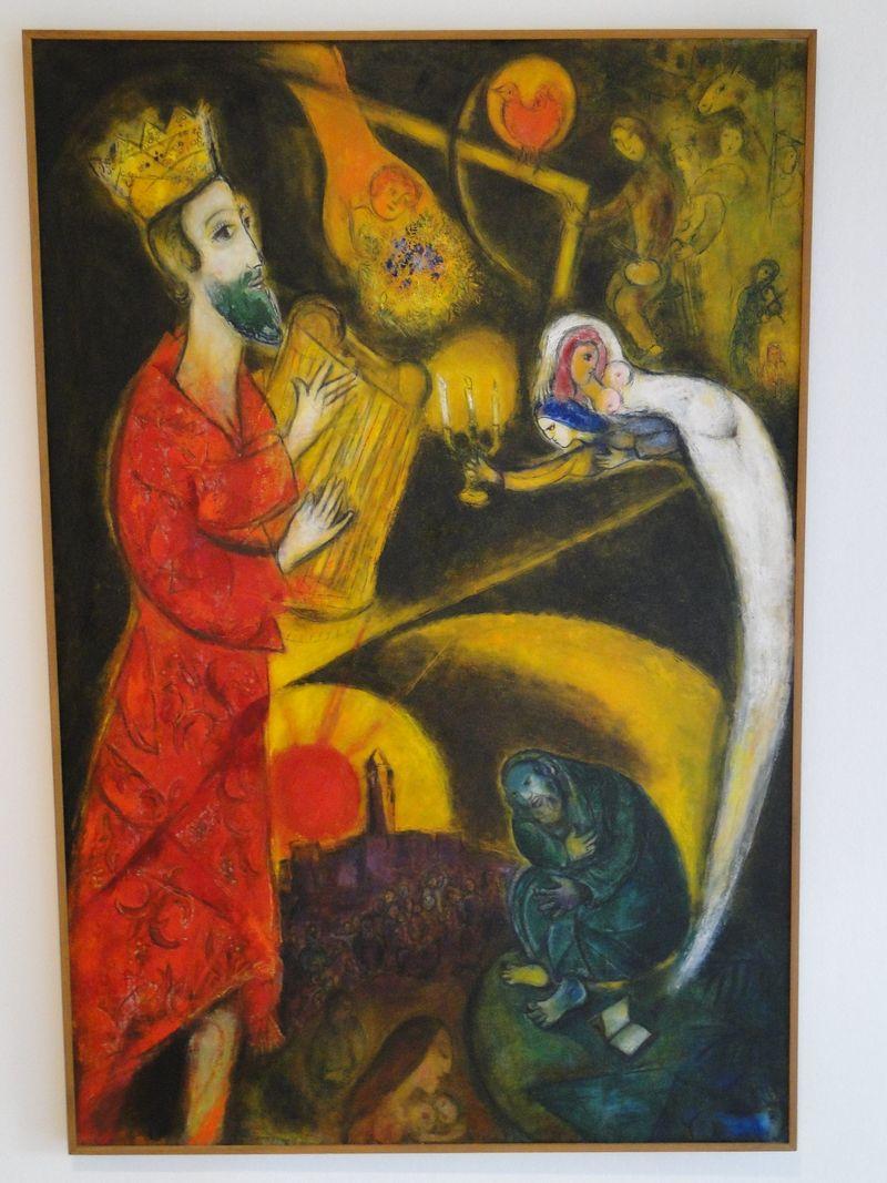 Chagall King David