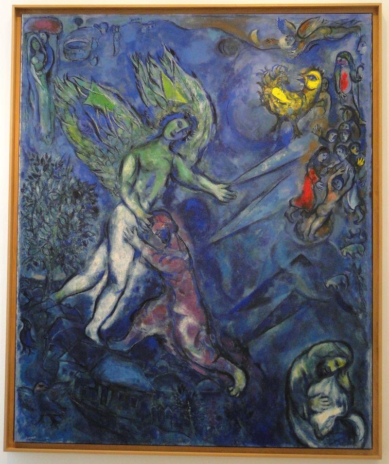 Chagall Up Close