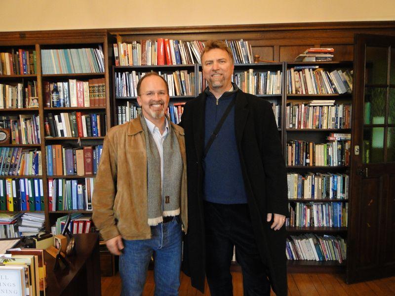 Scott and Brian