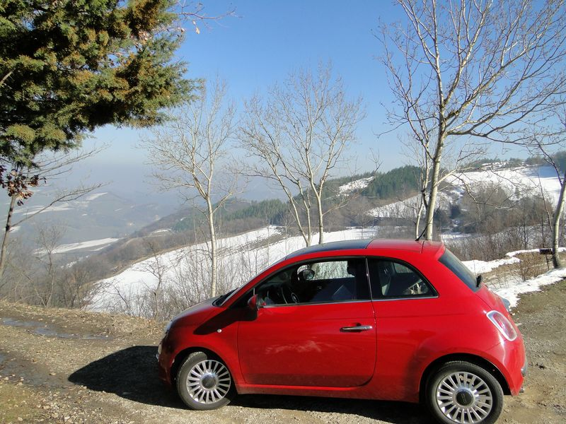 Apennine Fiat 500