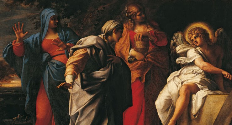 The Resurrection by Annibale Carracci